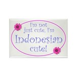 Indonesian Cute Rectangle Magnet (10 pack)