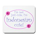 Indonesian Cute Mousepad
