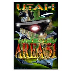 Utah The New Area 51 - 2005 Posters