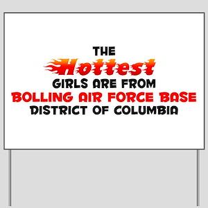 Hot Girls: Bolling Air , DC Yard Sign
