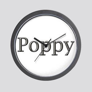 click to view POPPY steel Wall Clock