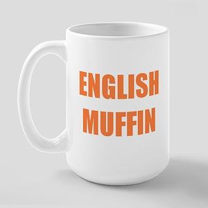 English Muffin Large Mug