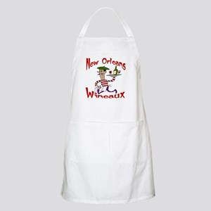 New Orleans Wineaux BBQ Apron