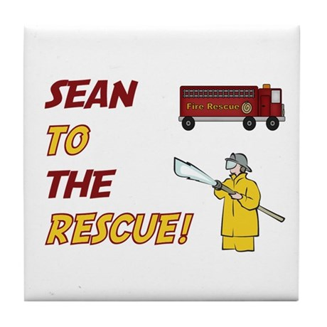 Sean to the Rescue! Tile Coaster