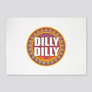 Dilly Dilly 5'x7'Area Rug