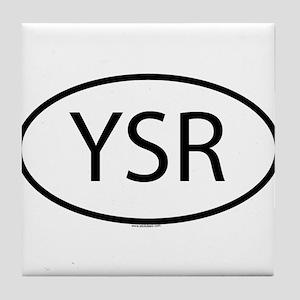 YSR Tile Coaster