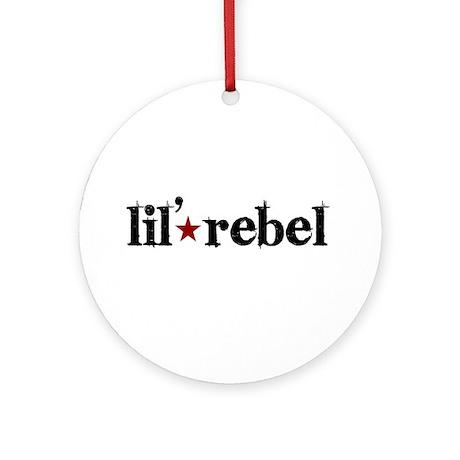 Lil' Rebel Ornament (Round)