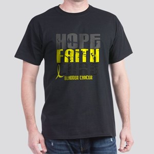 HOPE FAITH CURE Bladder Cancer T-Shirt