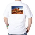 Vortex Side of Bell Rock Golf Shirt