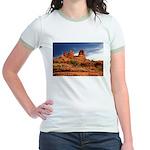 Vortex Side of Bell Rock Jr. Ringer T-Shirt
