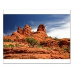 Vortex Side of Bell Rock Small Poster