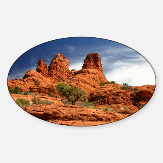Vortex Side of Bell Rock Oval Decal