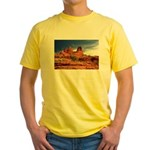 Vortex Side of Bell Rock Yellow T-Shirt