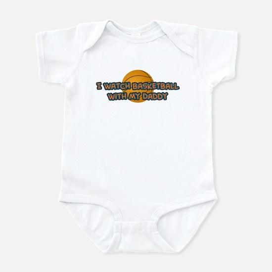 New York Basketball Daddy Infant Bodysuit