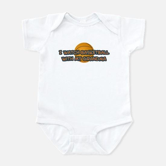 New York Basketball Grandma Infant Bodysuit