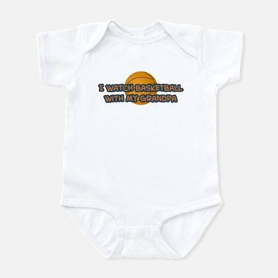 New York Basketball Grandpa Infant Bodysuit