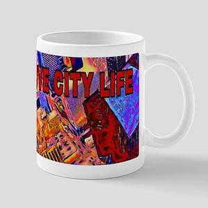 I LOVE CITY LIFE Mugs