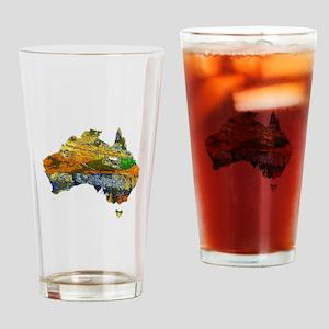 AUSTRALIA Drinking Glass