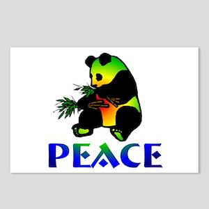 Peace Panda Bear Postcards (Package of 8)
