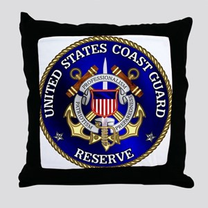 USCG Reserve Throw Pillow