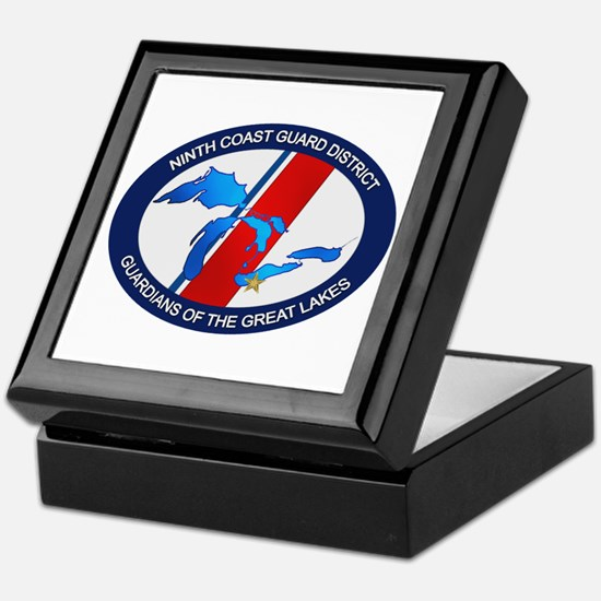 9th District USCG Keepsake Box