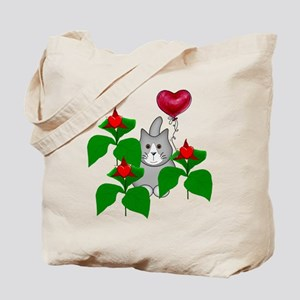 Kitty Cat Valentine Tote Bag