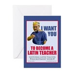 NLTRW I Want You Greeting Cards (Pk of 10)