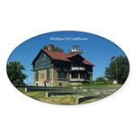 Michigan City Lighthouse Sticker