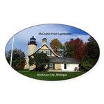 Mcgulpin Point Lighthouse Sticker