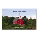 Marquette Harbor Lighthouse Sticker