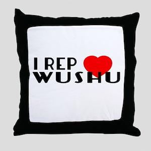 I Rep Wushu Sports Designs Throw Pillow