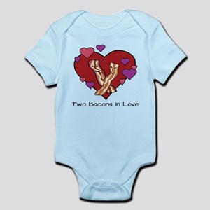 Two Bacons In Love Body Suit