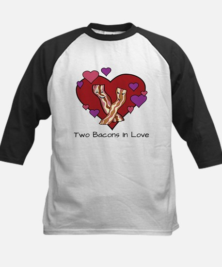 Two Bacons In Love Baseball Jersey