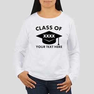 Class of XXXX Personal Women's Long Sleeve T-Shirt