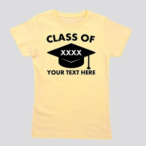 Class of XXXX Personalized Girl's Tee