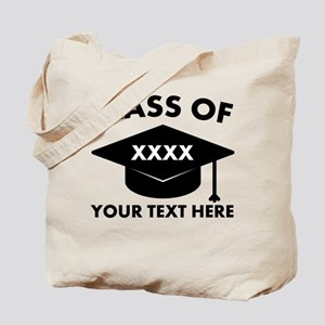 Class of XXXX Personalized Tote Bag
