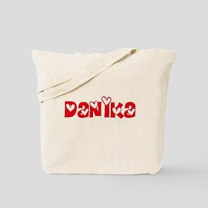 Danika Love Design Tote Bag