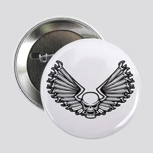 """Wrench-Feather 1 2.25"""" Button"""