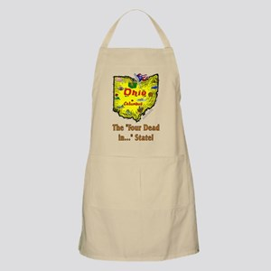 OH-Dead! BBQ Apron