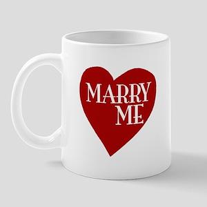 Marry Me Valentine's Day Mug