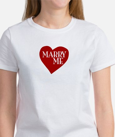 Marry Me Valentine's Day Women's T-Shirt