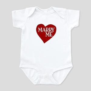 Marry Me Valentine's Day Infant Bodysuit