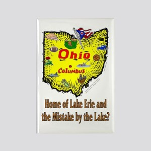 OH-Erie! Rectangle Magnet