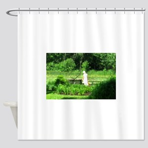 Impressionist Scene Shower Curtain