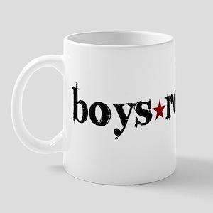 Boys Rock Mug