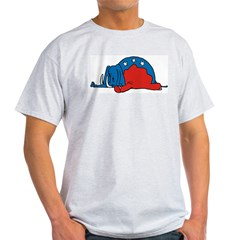 Anti-Republican Ash Grey T-Shirt