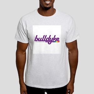 bull dyke Ash Grey T-Shirt