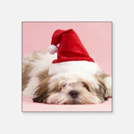 CHRISTMAS PUP Sticker