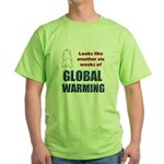 Groundhog Day Green T-Shirt