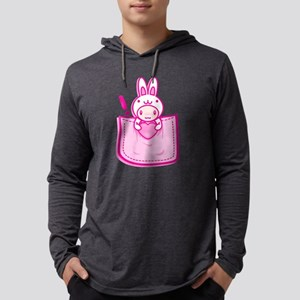 Rabbit_in_the_Pocket Long Sleeve T-Shirt